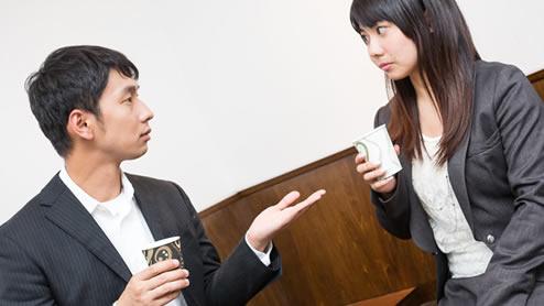 「受け取る」の異なる二つの敬語表現